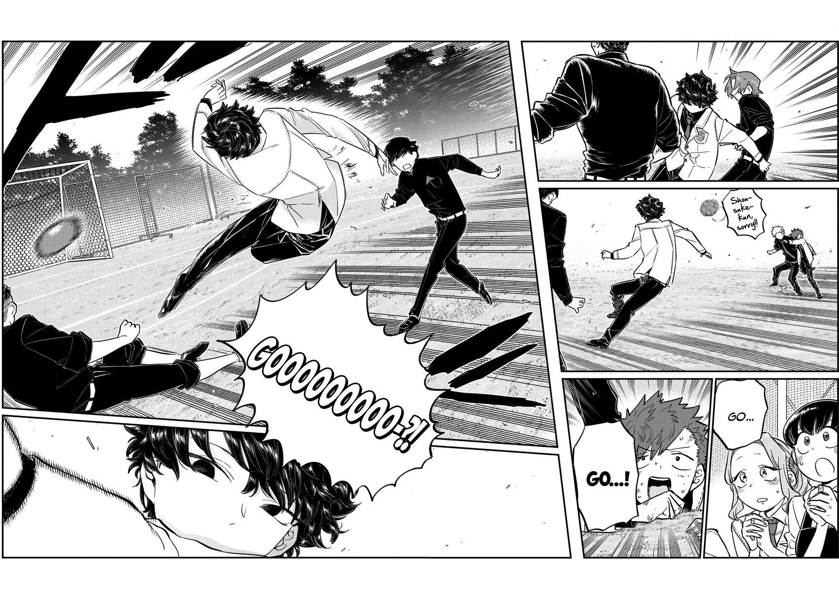 Komi-San Wa Komyushou Desu Vol.10 Chapter 143: Soccer page 16 - Mangakakalot