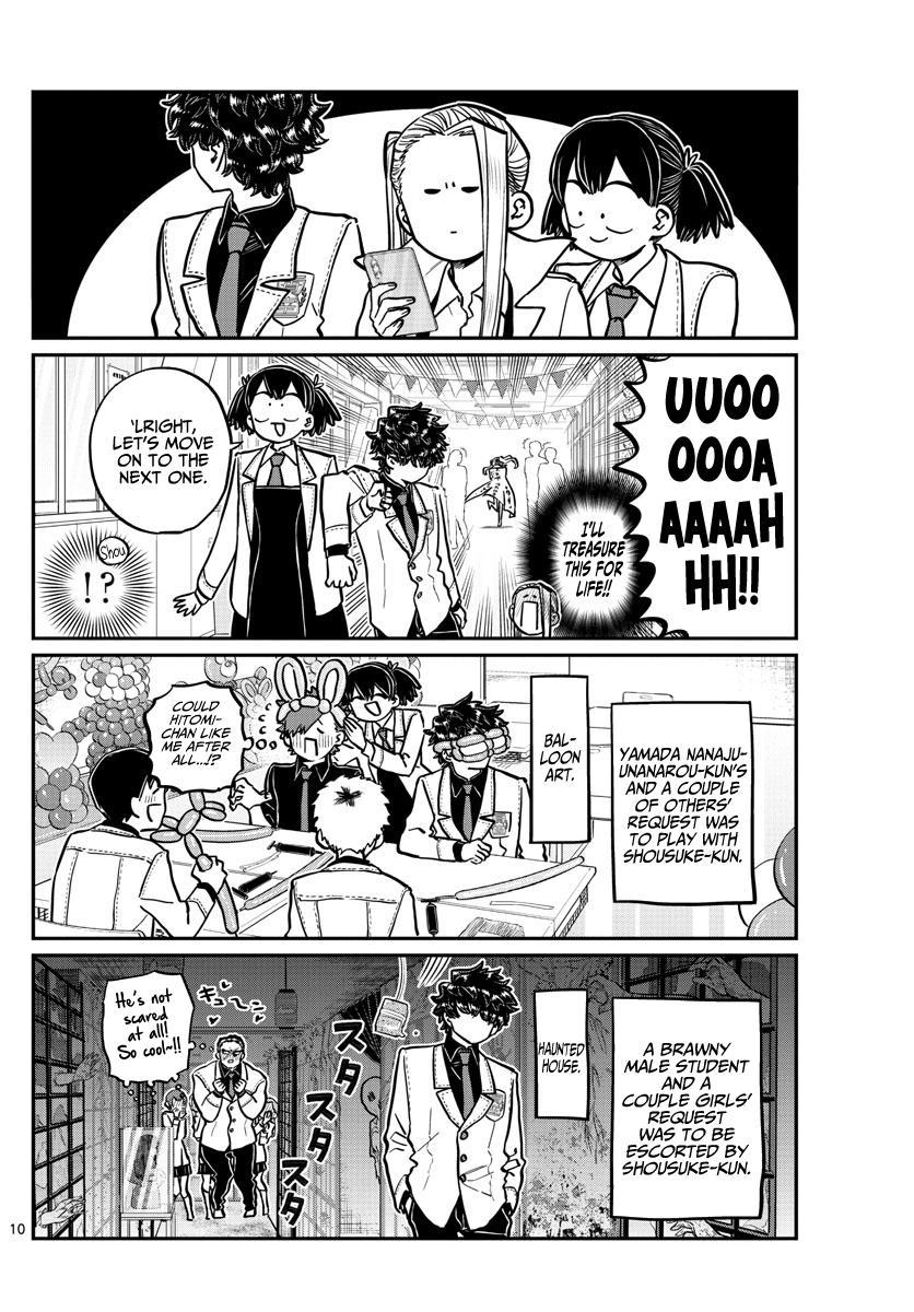 Komi-San Wa Komyushou Desu Chapter 244: Little Brother'S Cultural Festival page 10 - Mangakakalot