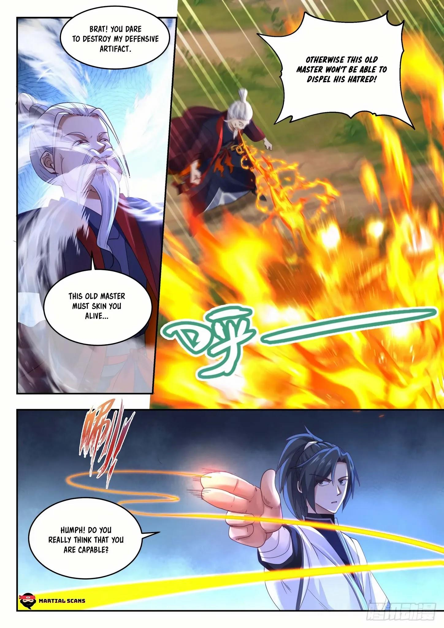 Martial Peak Chapter 1313: Heaven Scorching Thunder Fire page 6 - Mangakakalots.com