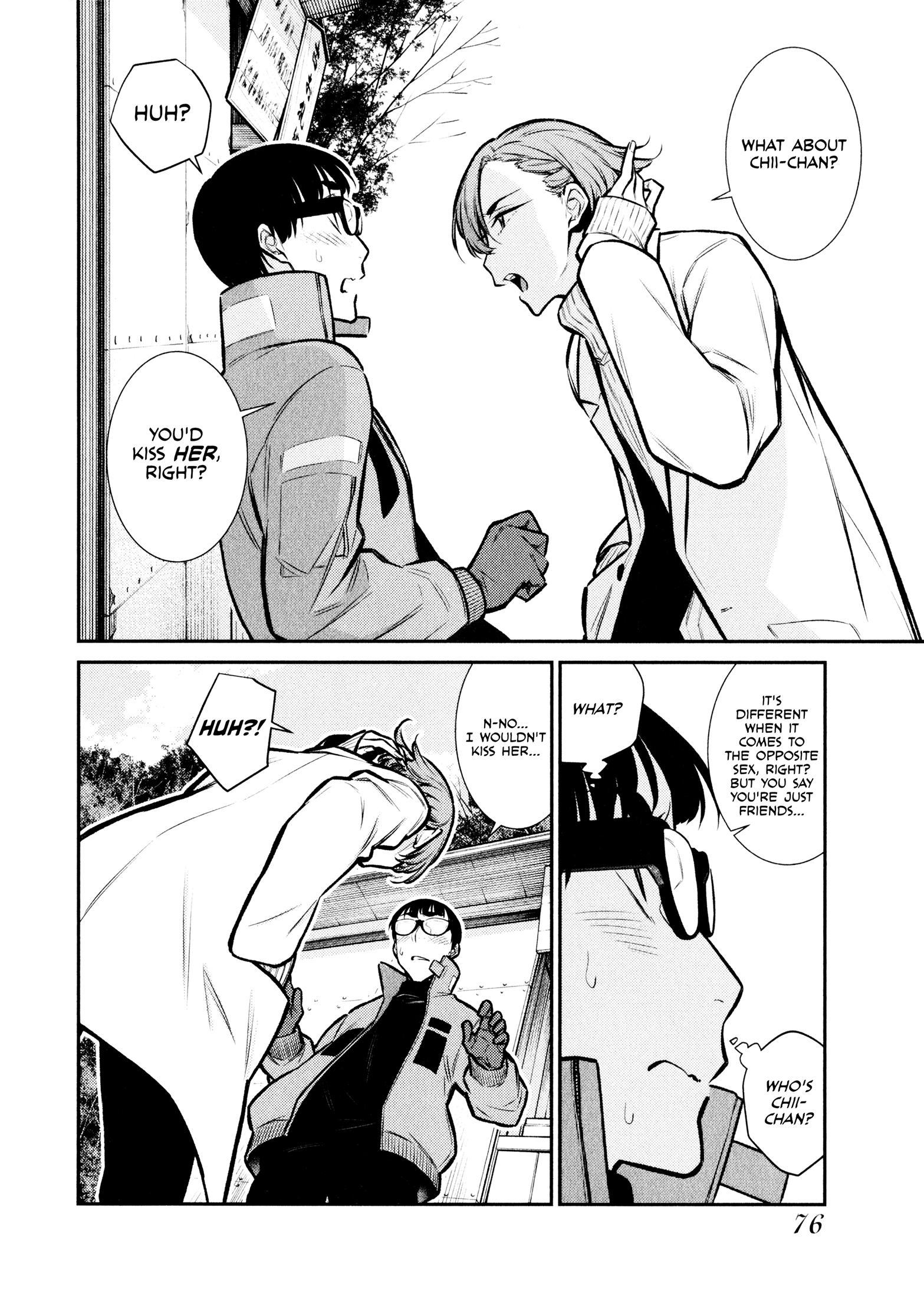 Yancha Gal No Anjou-San Vol.6 Chapter 72: Anjou-San And Seto-Kun's Wishes page 6 - Mangakakalots.com