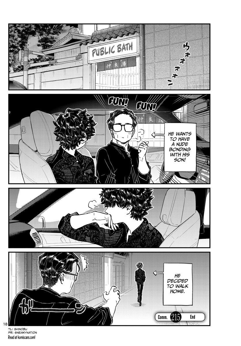 Komi-San Wa Komyushou Desu Chapter 215: A Day Of A Father And Son page 18 - Mangakakalot