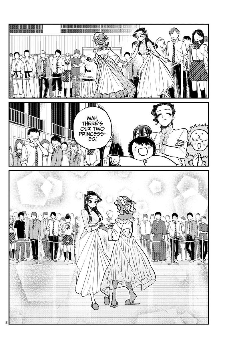 Komi-San Wa Komyushou Desu Chapter 234: The Afterparty page 8 - Mangakakalot