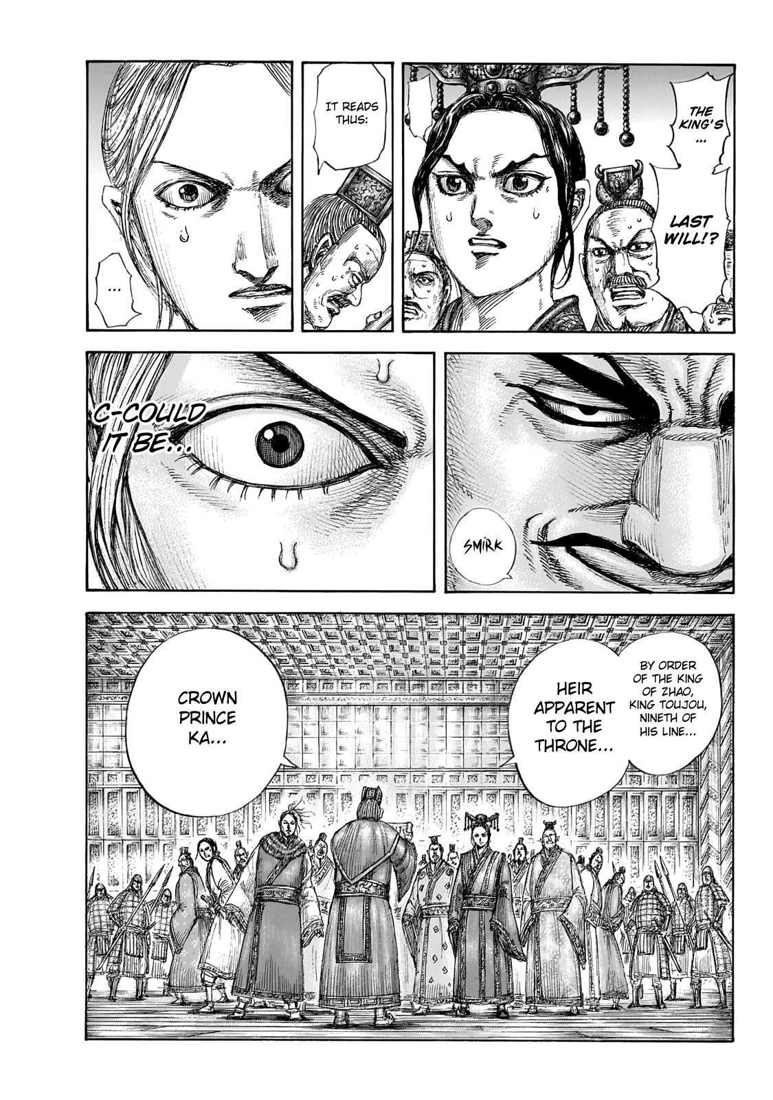 Kingdom Chapter 645: Zhao King's Decree page 19 - Mangakakalots.com