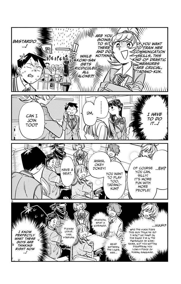 Komi-San Wa Komyushou Desu Vol.1 Chapter 19: Saitou page 6 - Mangakakalot