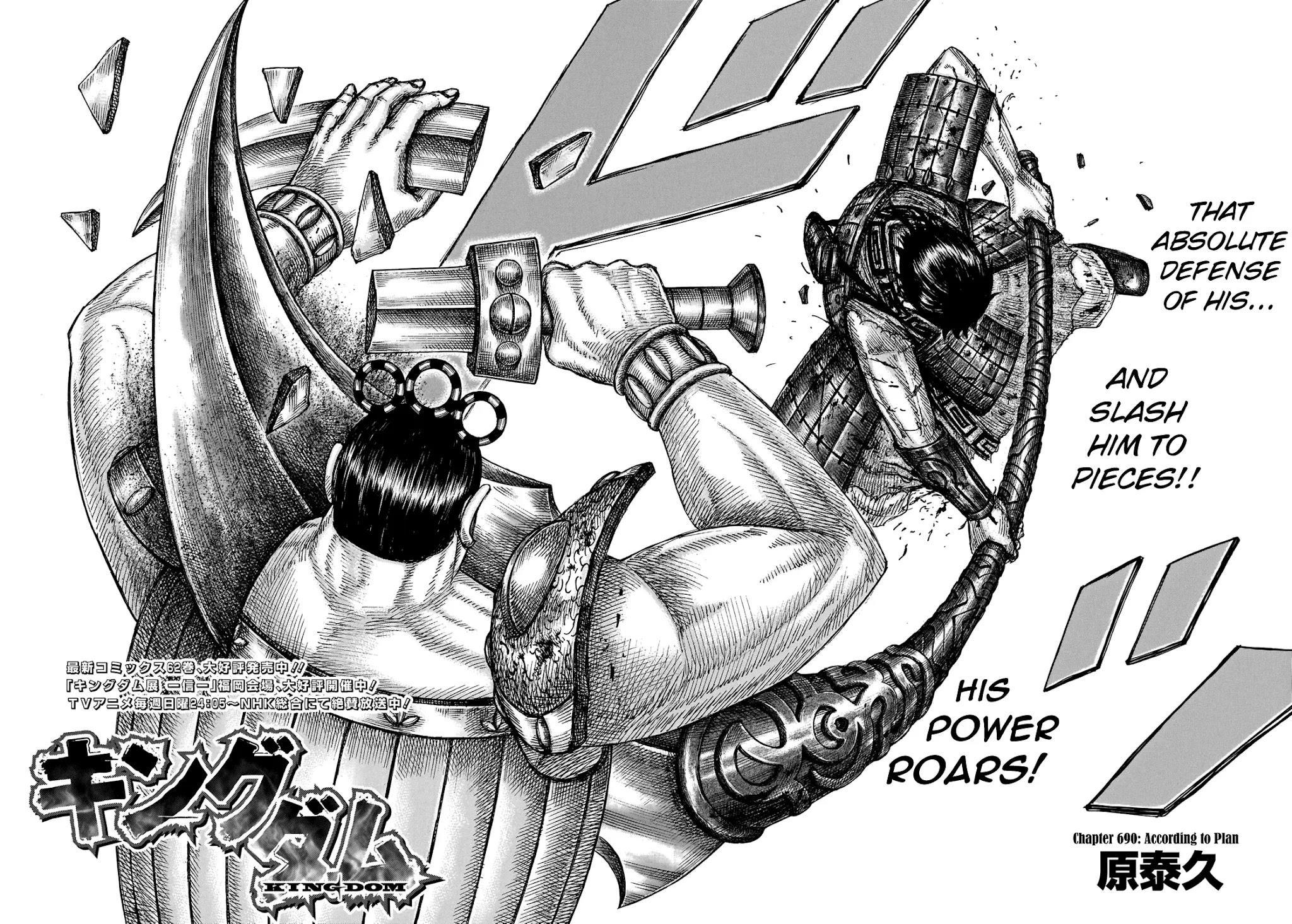 Kingdom Chapter 690: According To Plan page 4 - Mangakakalot