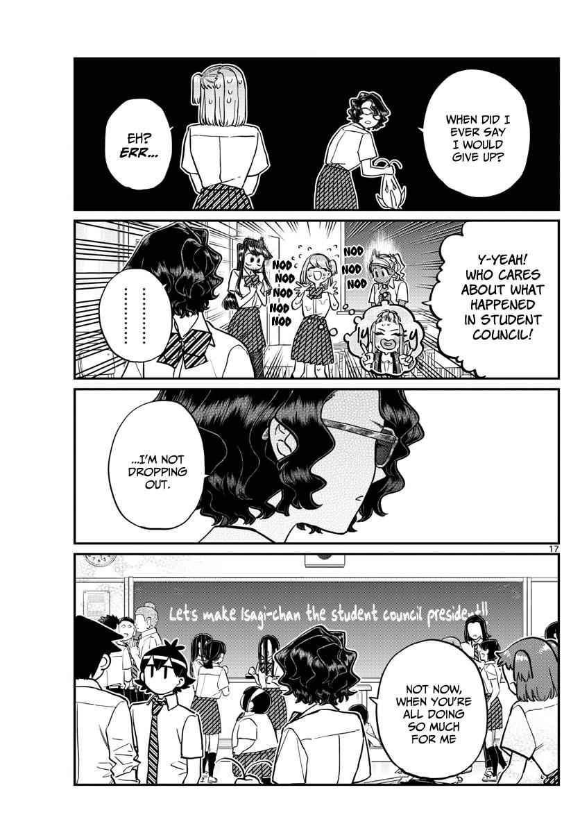Komi-San Wa Komyushou Desu Chapter 201: Smile page 18 - Mangakakalot