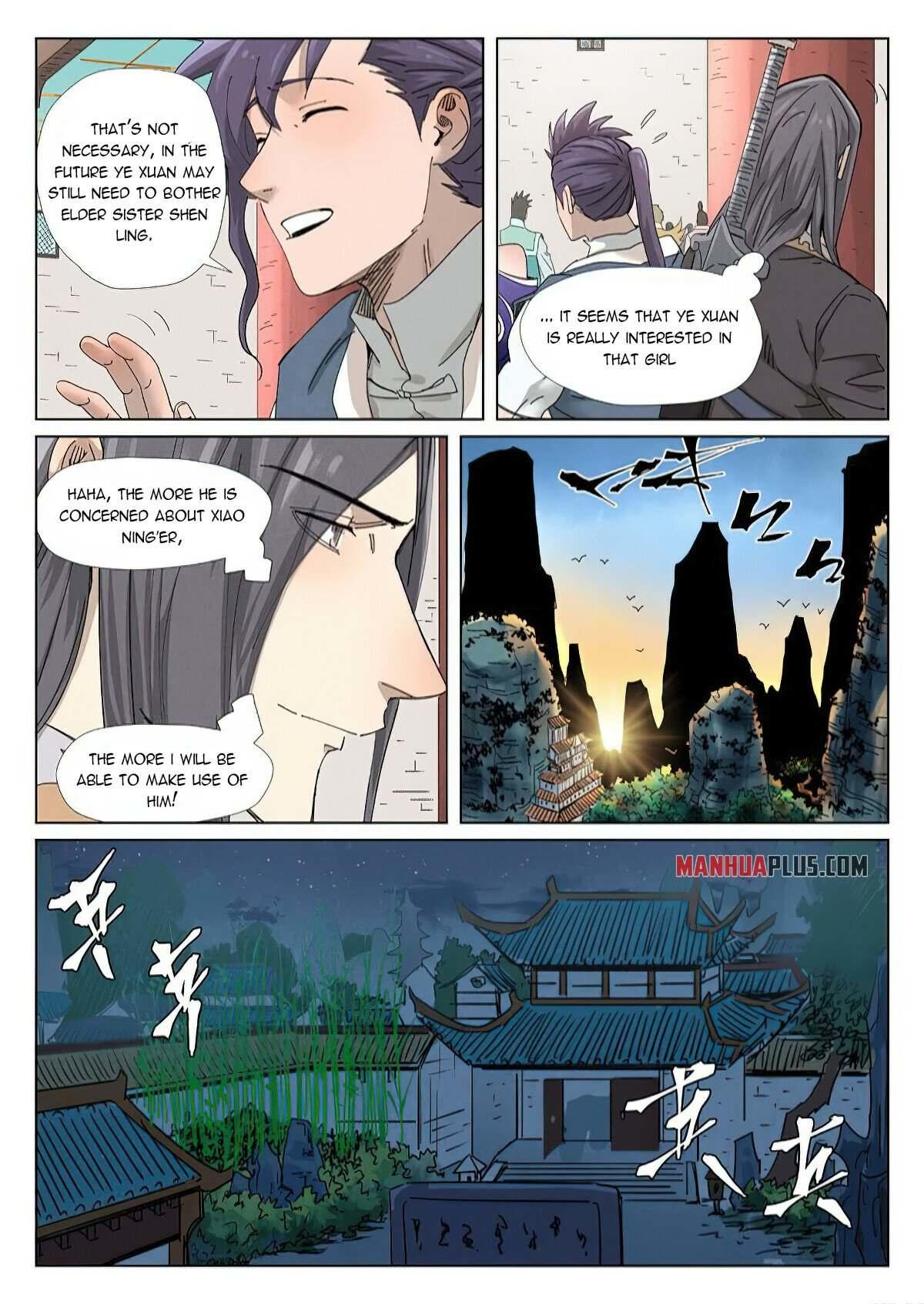 Tales Of Demons And Gods Chapter 343 page 7 - Mangakakalots.com