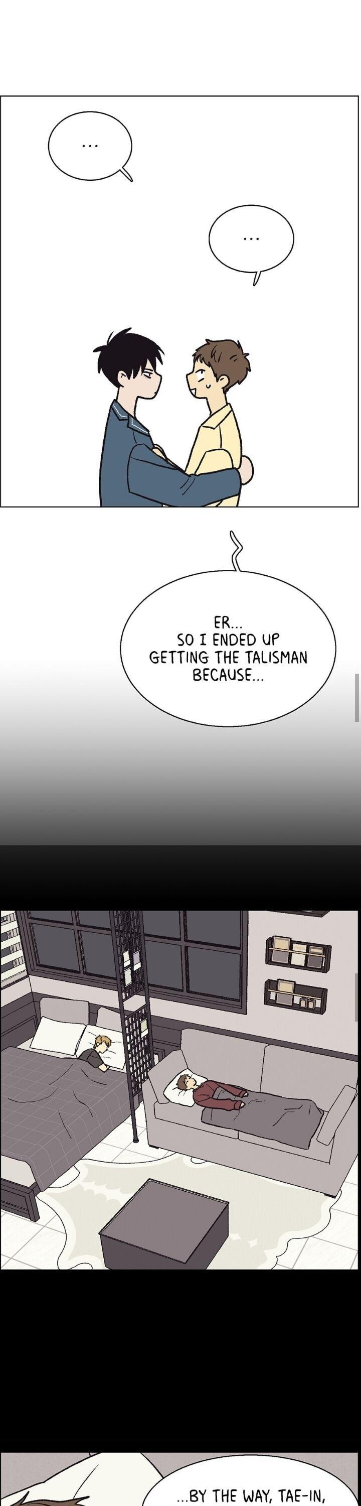 The Spooky Love Tale Of Gongchan Seol Chapter 49 page 14 - Mangakakalots.com