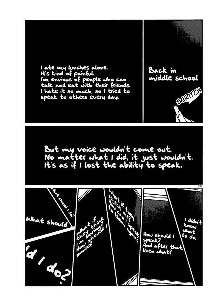 Komi-San Wa Komyushou Desu Vol.1 Chapter 5: I Want To Chat page 6 - Mangakakalot