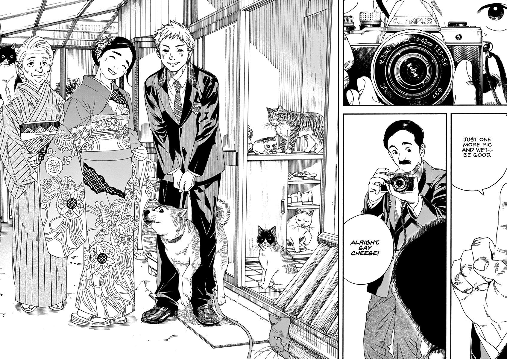Neko No Otera No Chion-San Chapter 64: Coming-Of-Age Ceremony, Family And Chion page 14 - Mangakakalots.com