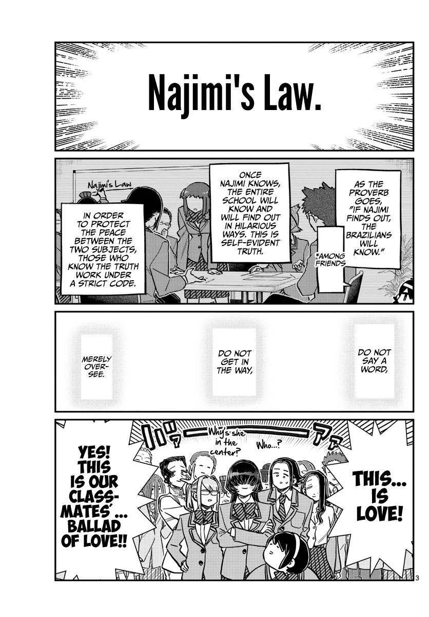 Komi-San Wa Komyushou Desu Chapter 306: Reaction page 3 - Mangakakalot