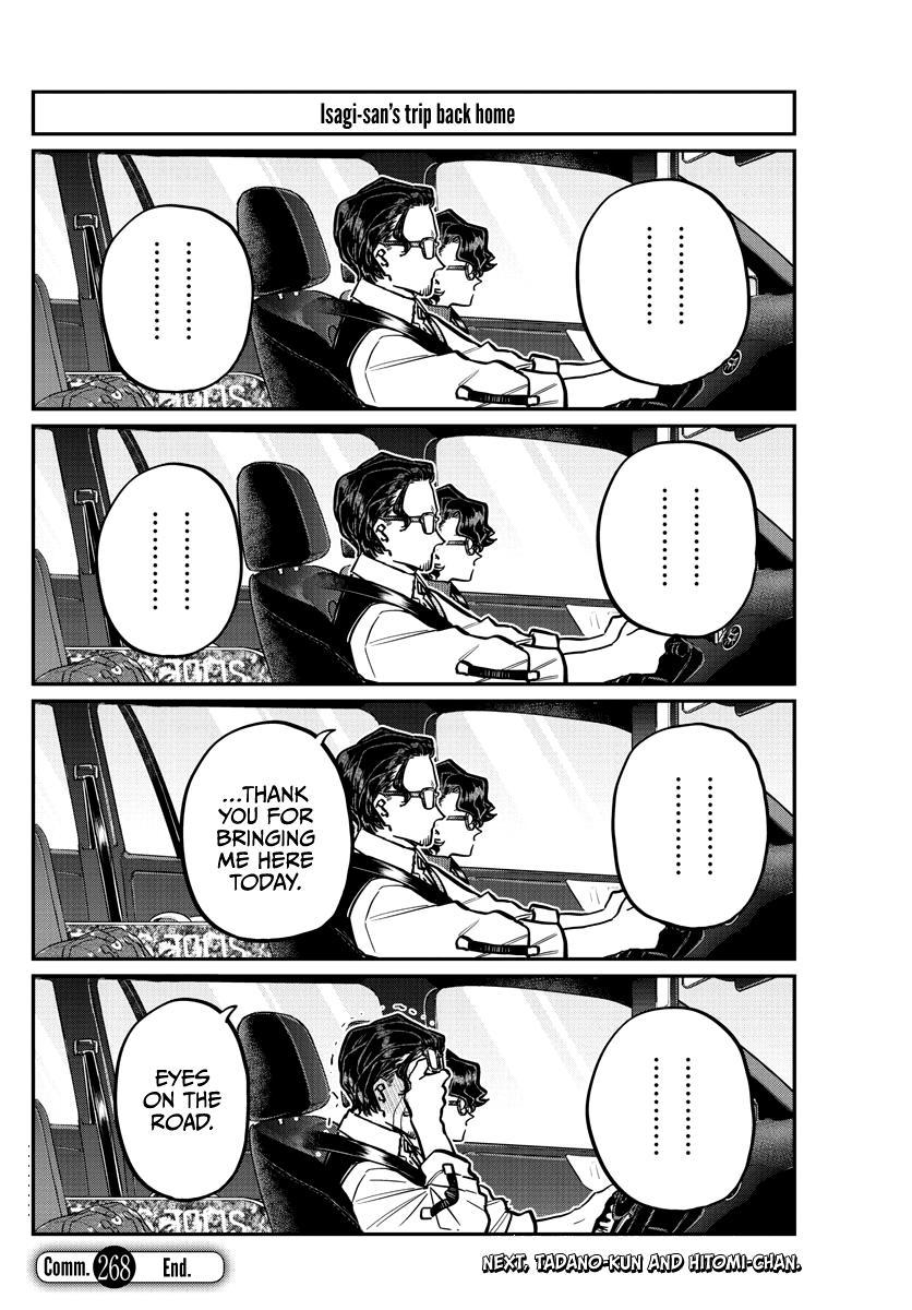 Komi-San Wa Komyushou Desu Chapter 268: Talking About Skiing page 18 - Mangakakalot