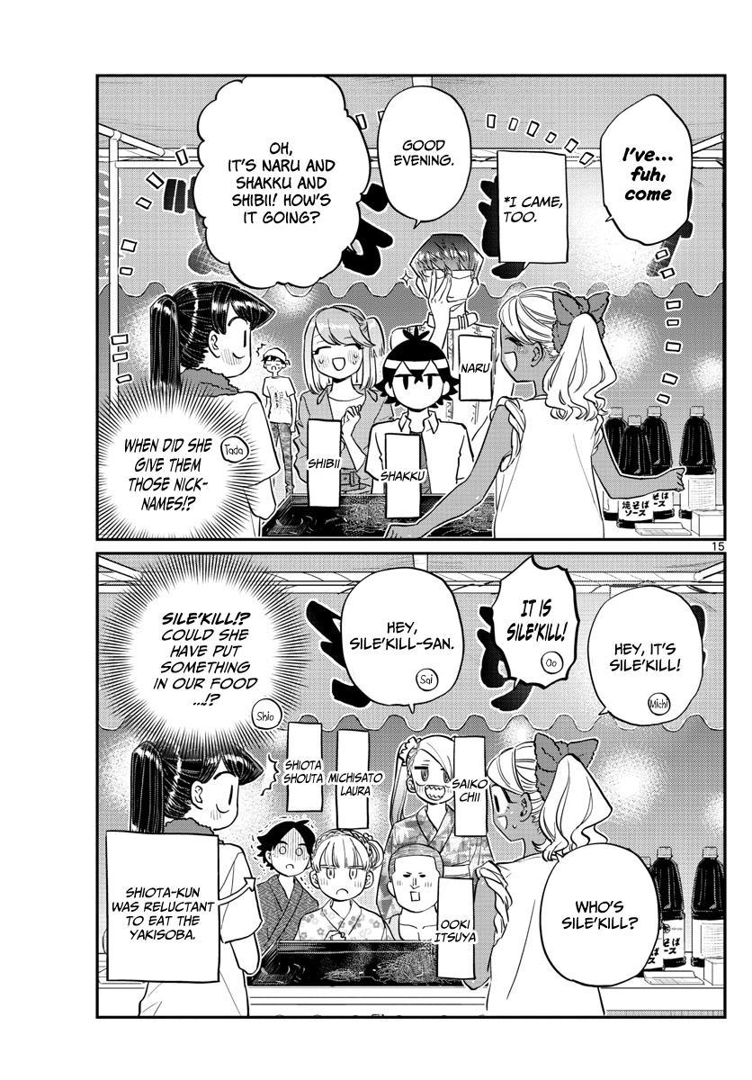 Komi-San Wa Komyushou Desu Chapter 193: Stall page 15 - Mangakakalot