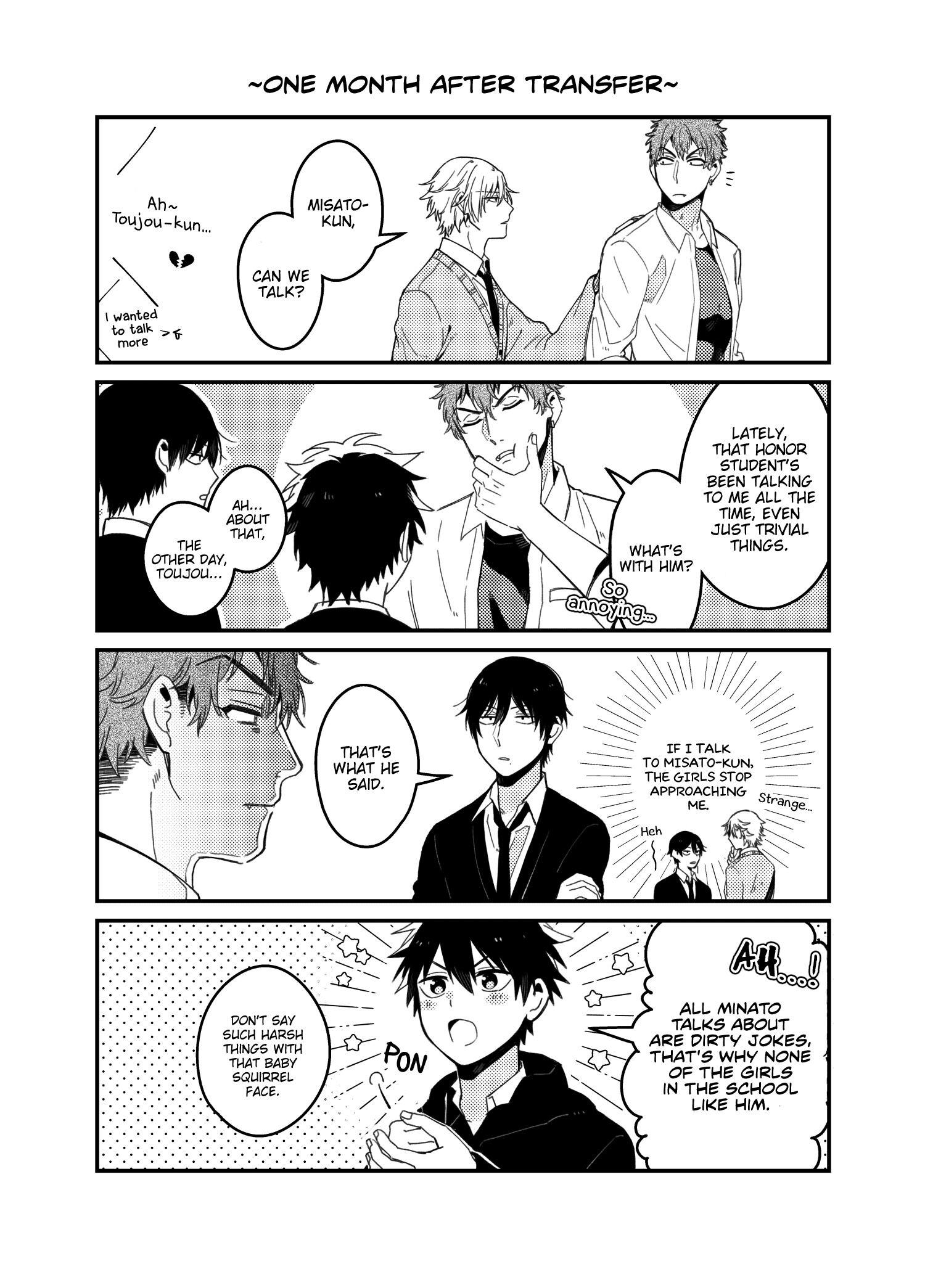 A World Where Everything Definitely Becomes Bl Vs. The Man Who Definitely Doesn't Want To Be In A Bl Volume 2 Chapter 35.6 : Twitter Comics page 7 - Mangakakalots.com