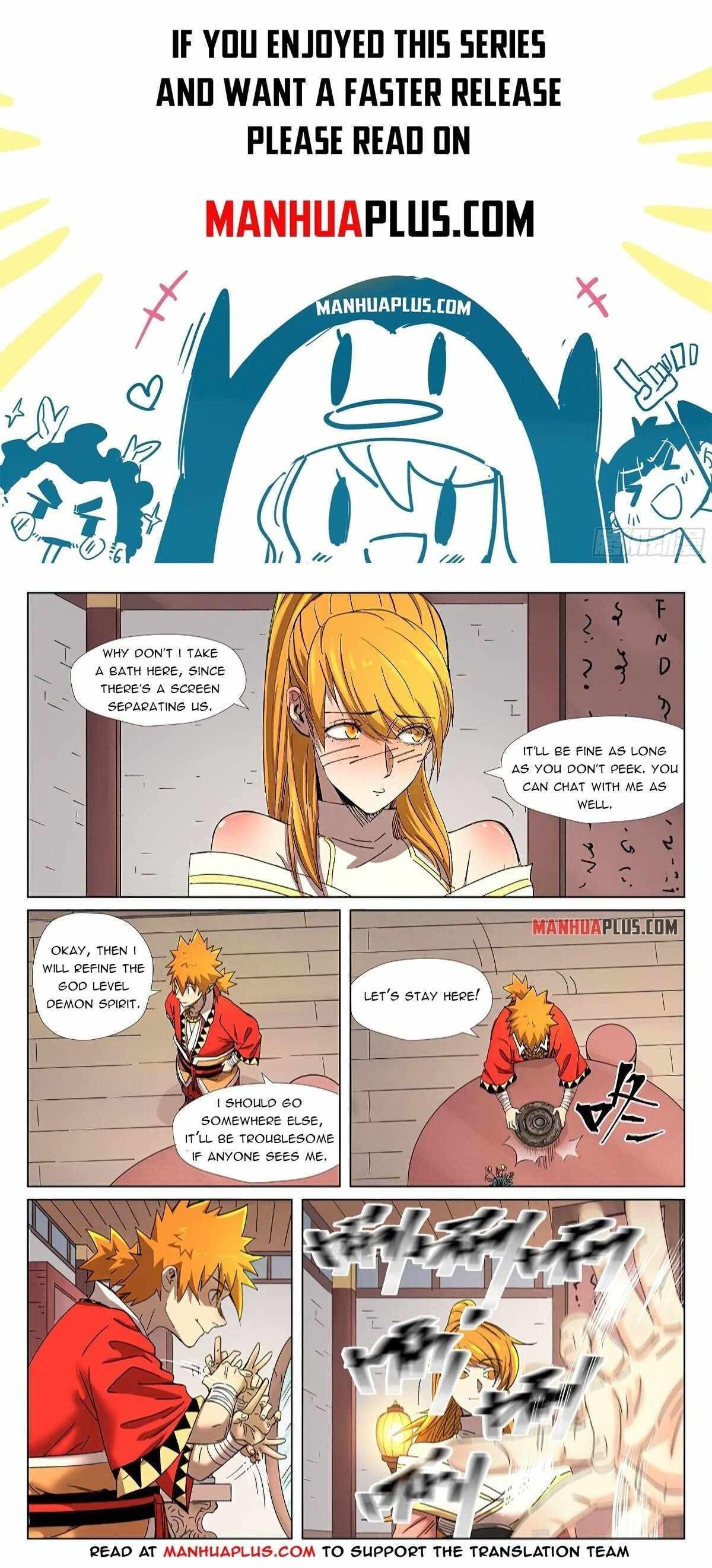 Tales Of Demons And Gods Chapter 343.5 page 1 - Mangakakalot