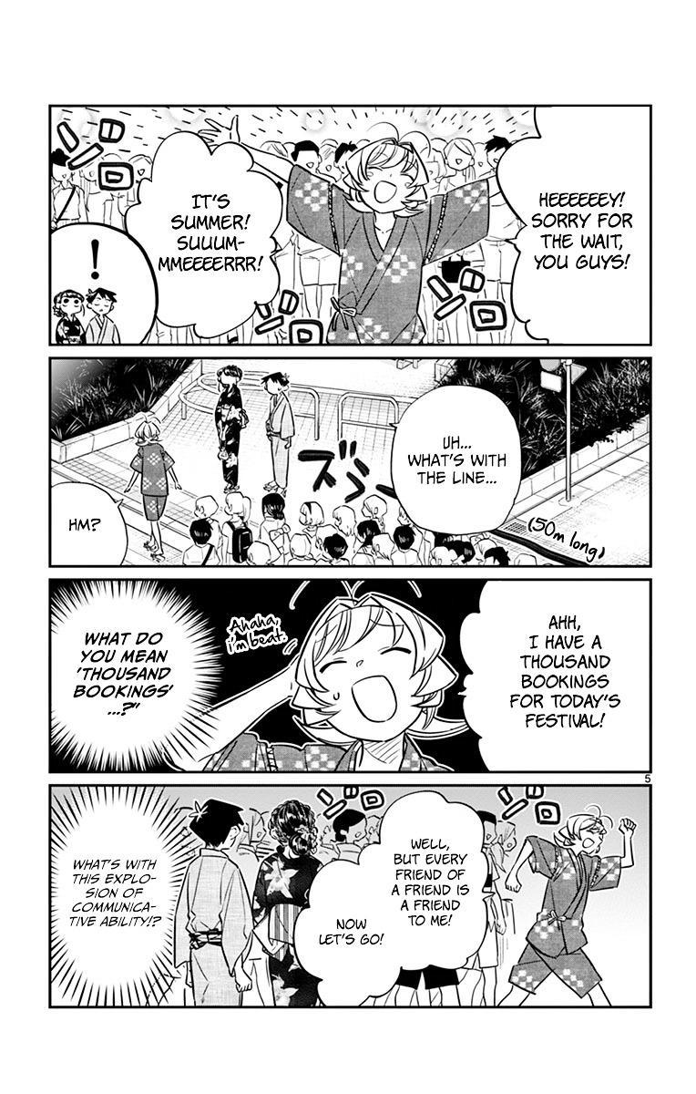 Komi-San Wa Komyushou Desu Vol.3 Chapter 46: Summer Festival page 5 - Mangakakalot