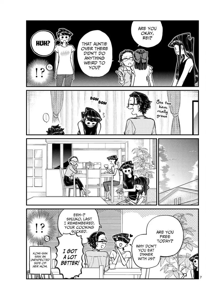 Komi-San Wa Komyushou Desu Vol.13 Chapter 177: Goodbye, Rei-Chan page 7 - Mangakakalot
