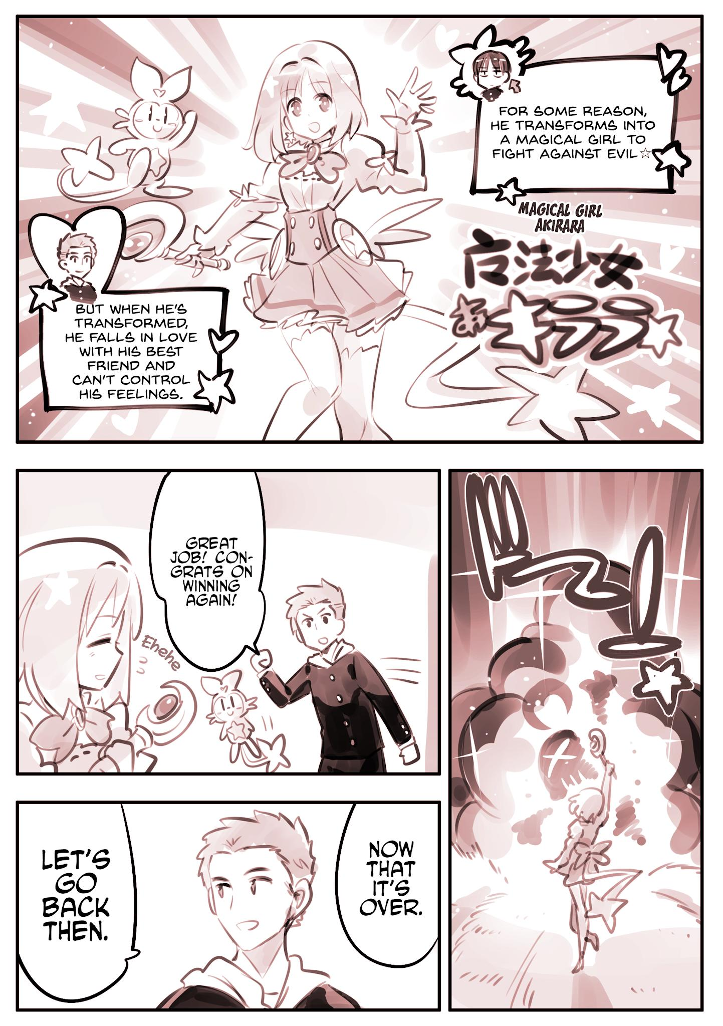 He Is A Magical Girl Chapter 9 page 1 - Mangakakalots.com