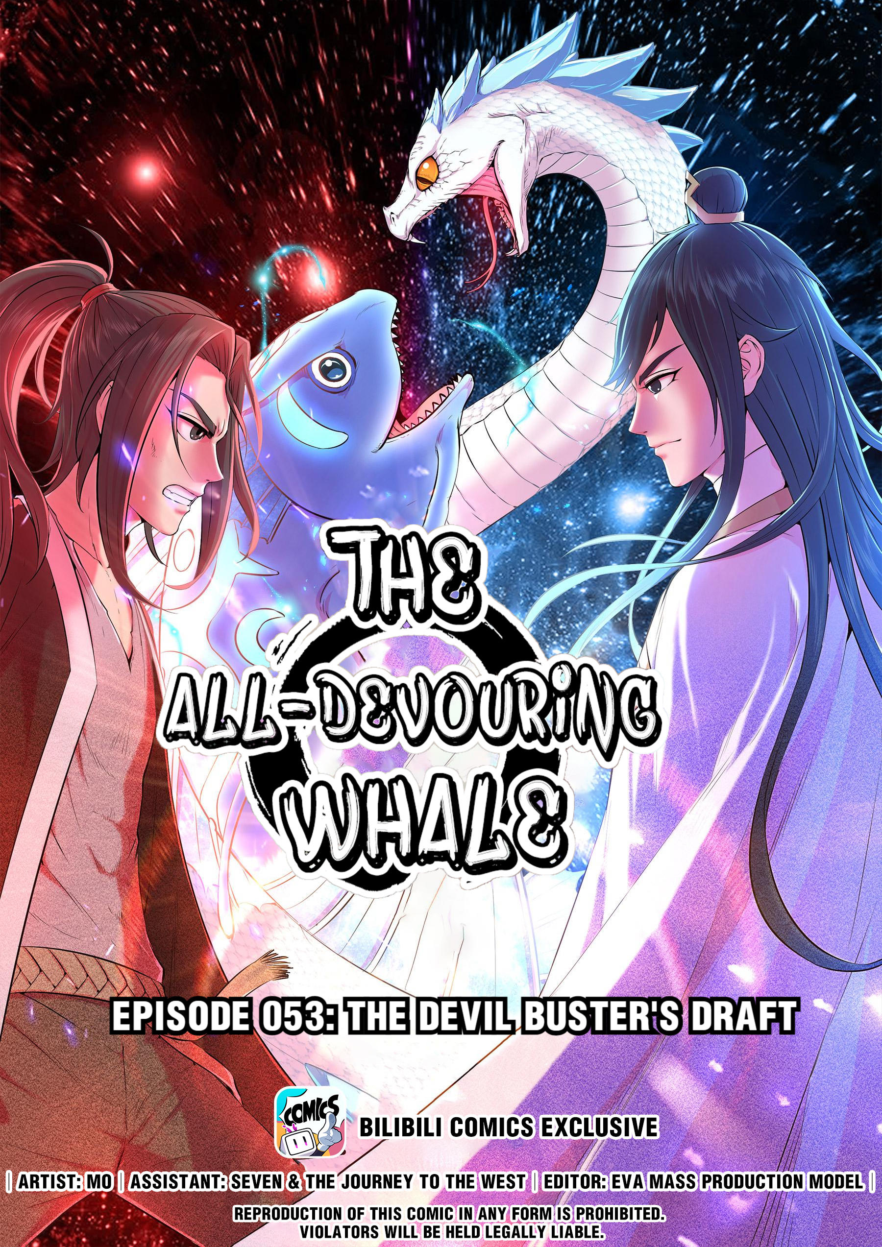 The All-Devouring Whale Chapter 53.0: The Devil Buster's Draft page 1 - Mangakakalots.com