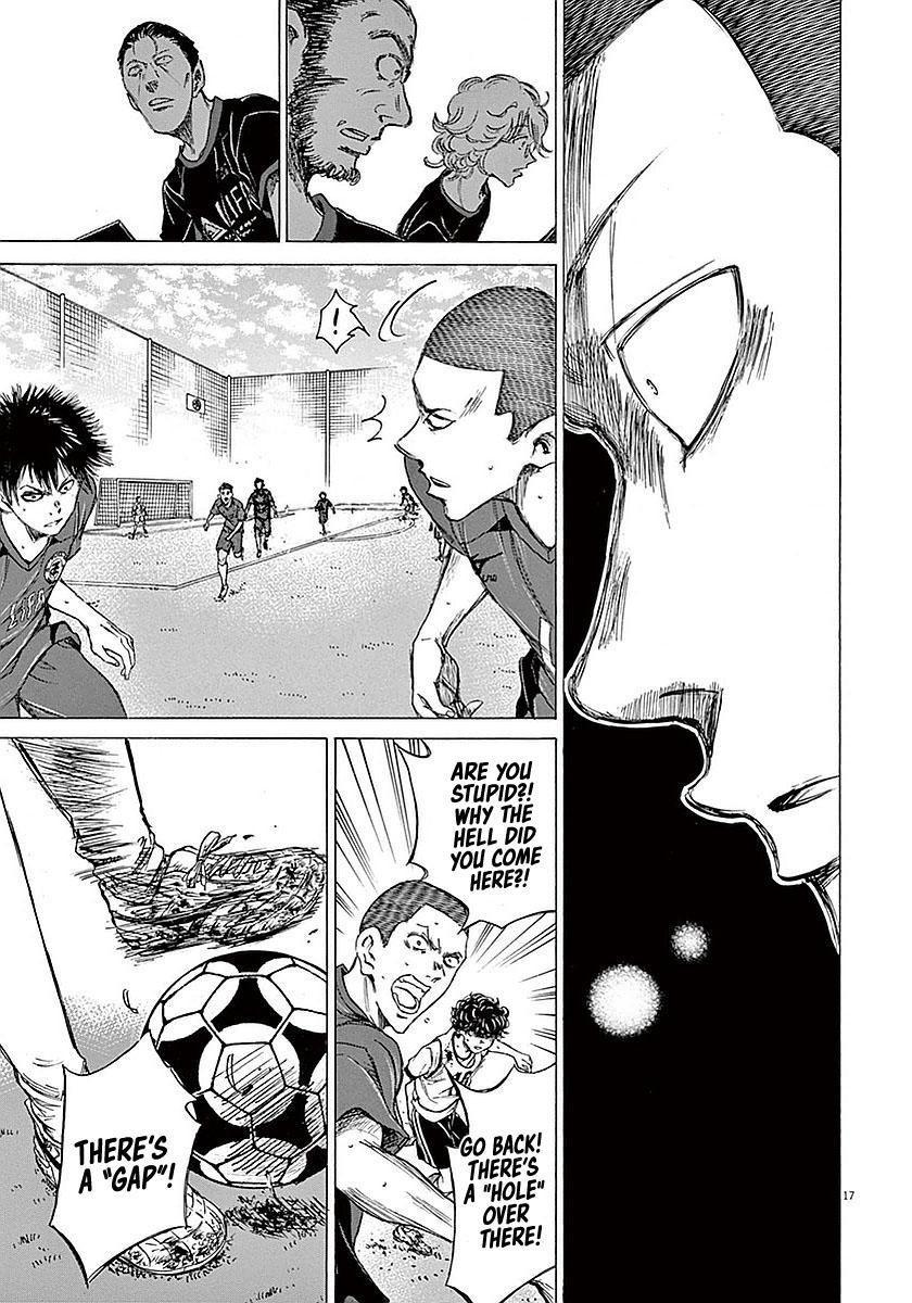 Ao Ashi Vol.2 Chapter 16: Crow page 17 - Mangakakalots.com
