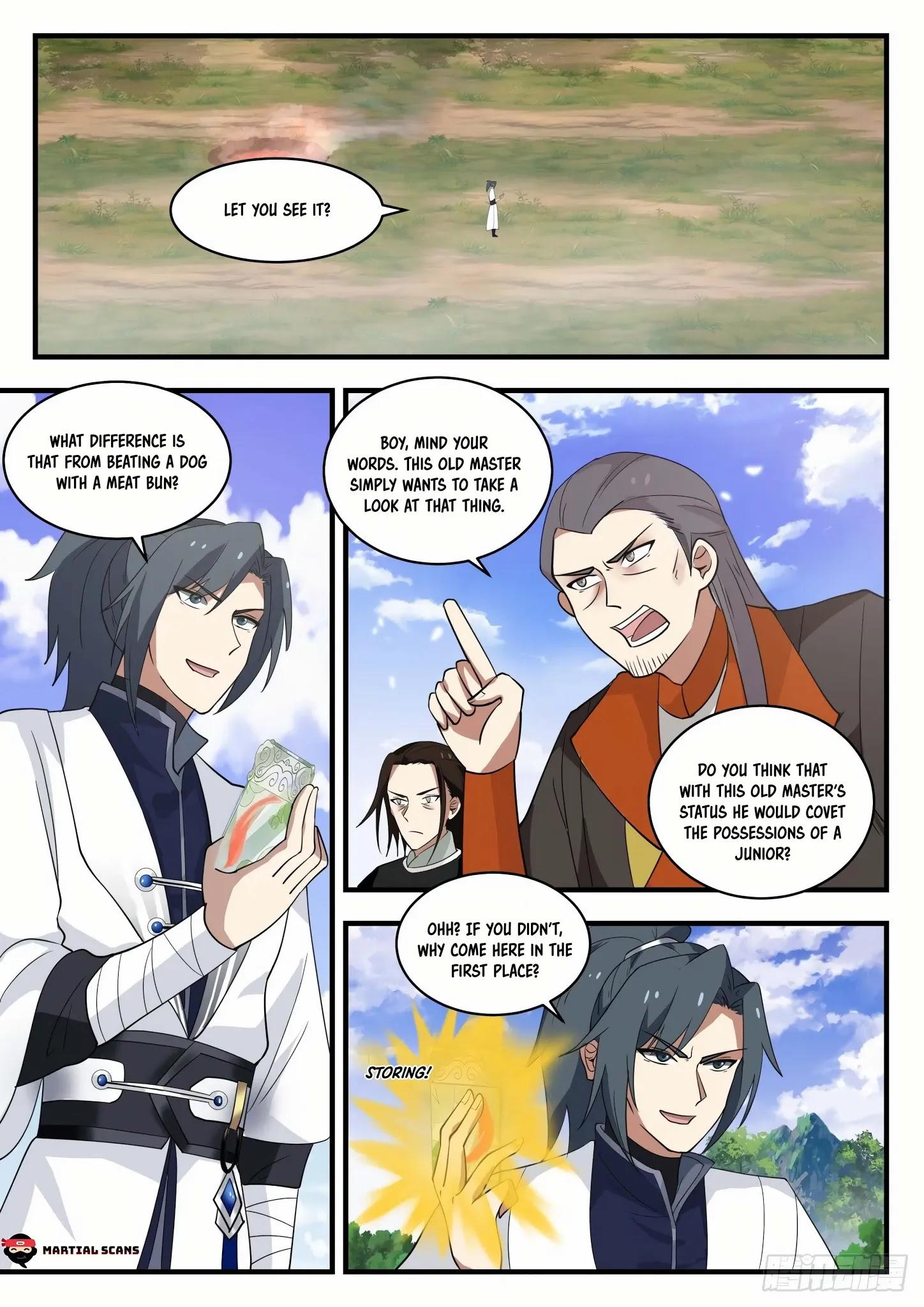 Martial Peak Chapter 1295: Series Of Twists And Turns page 2 - Mangakakalots.com