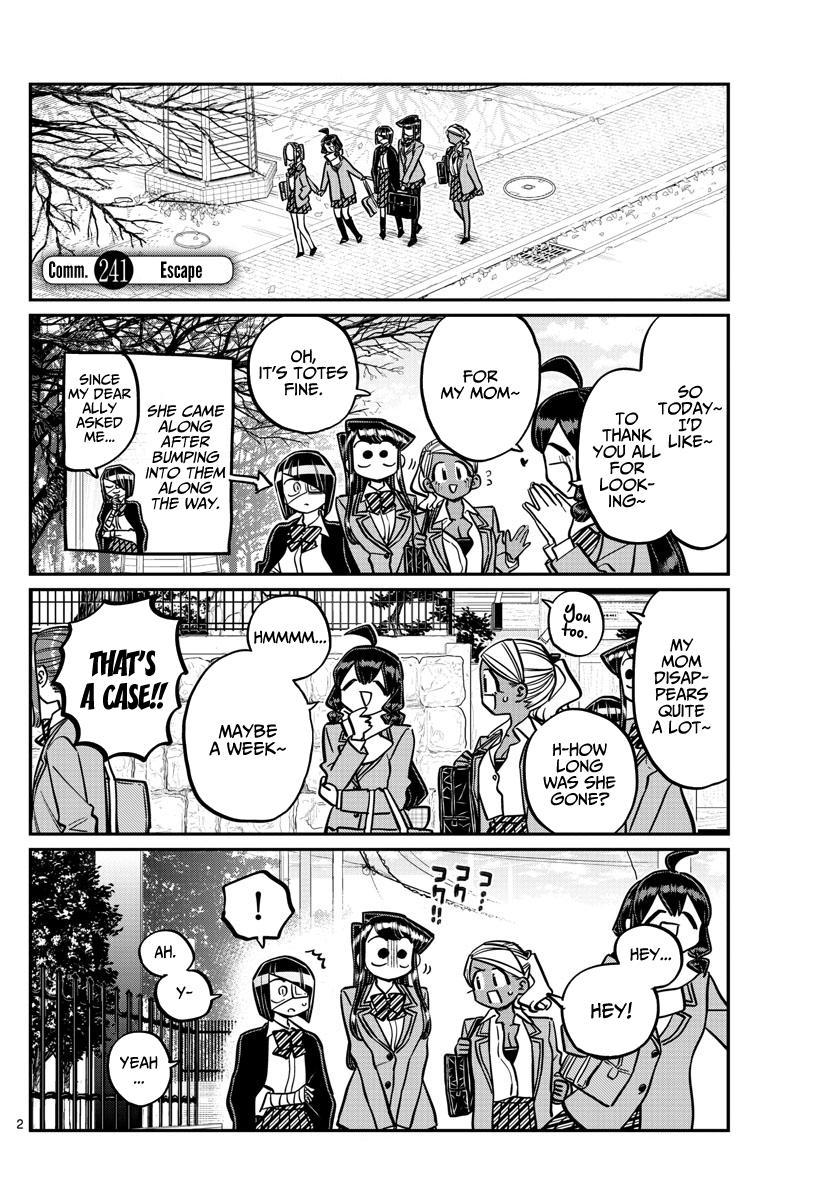 Komi-San Wa Komyushou Desu Chapter 241: Escape page 5 - Mangakakalot