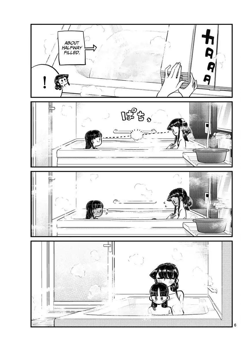 Komi-San Wa Komyushou Desu Vol.13 Chapter 176: A Bath With Rei-Chan page 6 - Mangakakalot