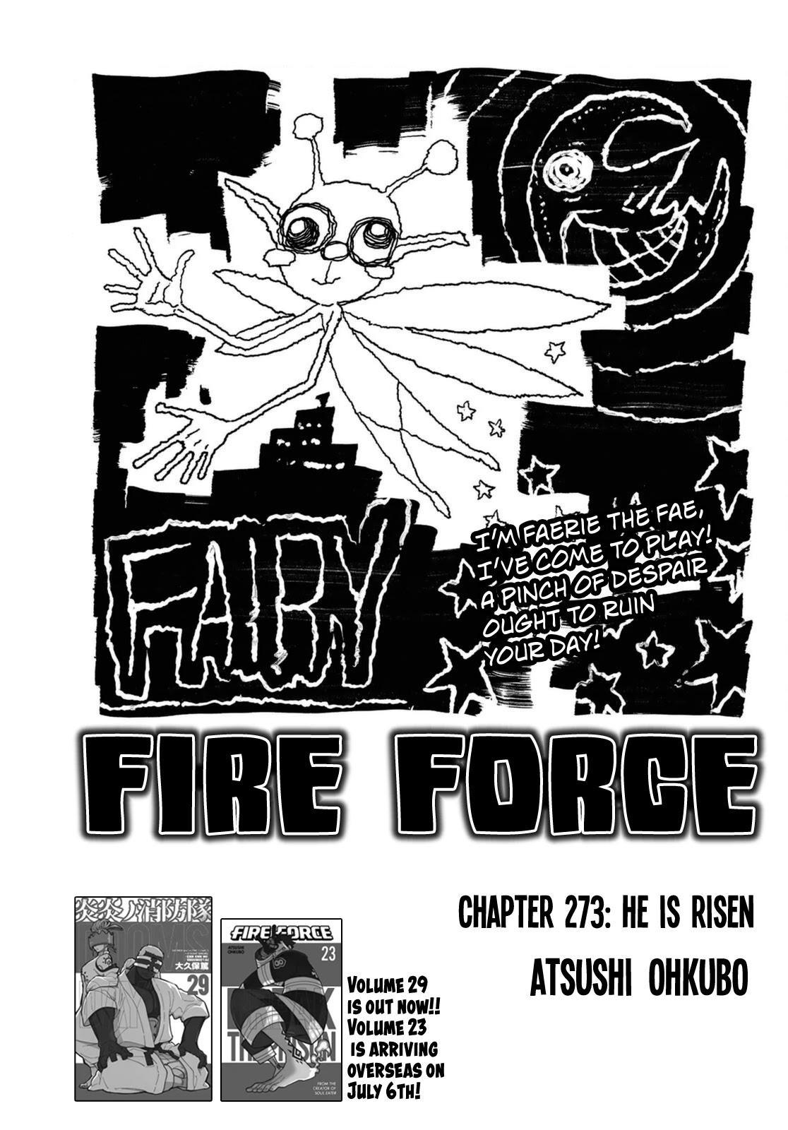 Enen No Shouboutai Chapter 273: He Is Risen page 1 - Mangakakalots.com