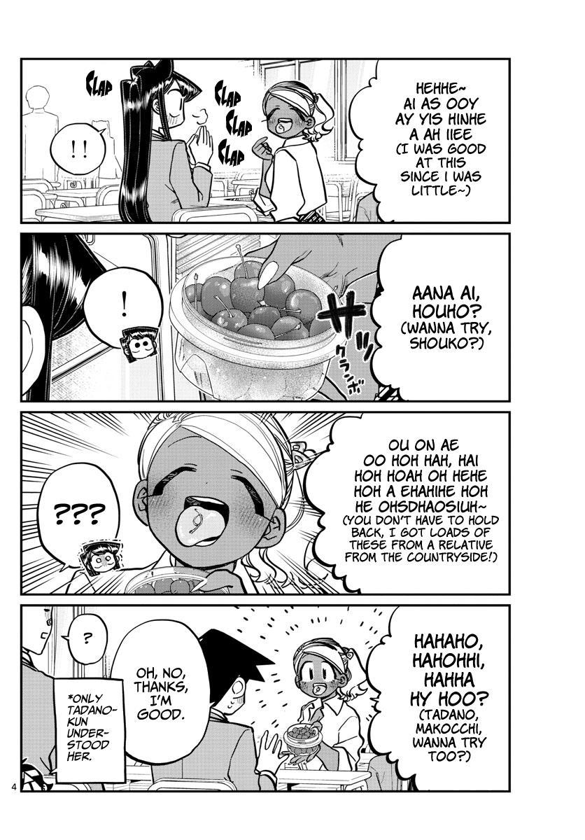 Komi-San Wa Komyushou Desu Chapter 242: Stem page 4 - Mangakakalot