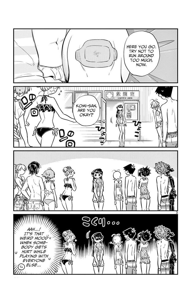 Komi-San Wa Komyushou Desu Vol.3 Chapter 40: Just A Graze page 3 - Mangakakalot