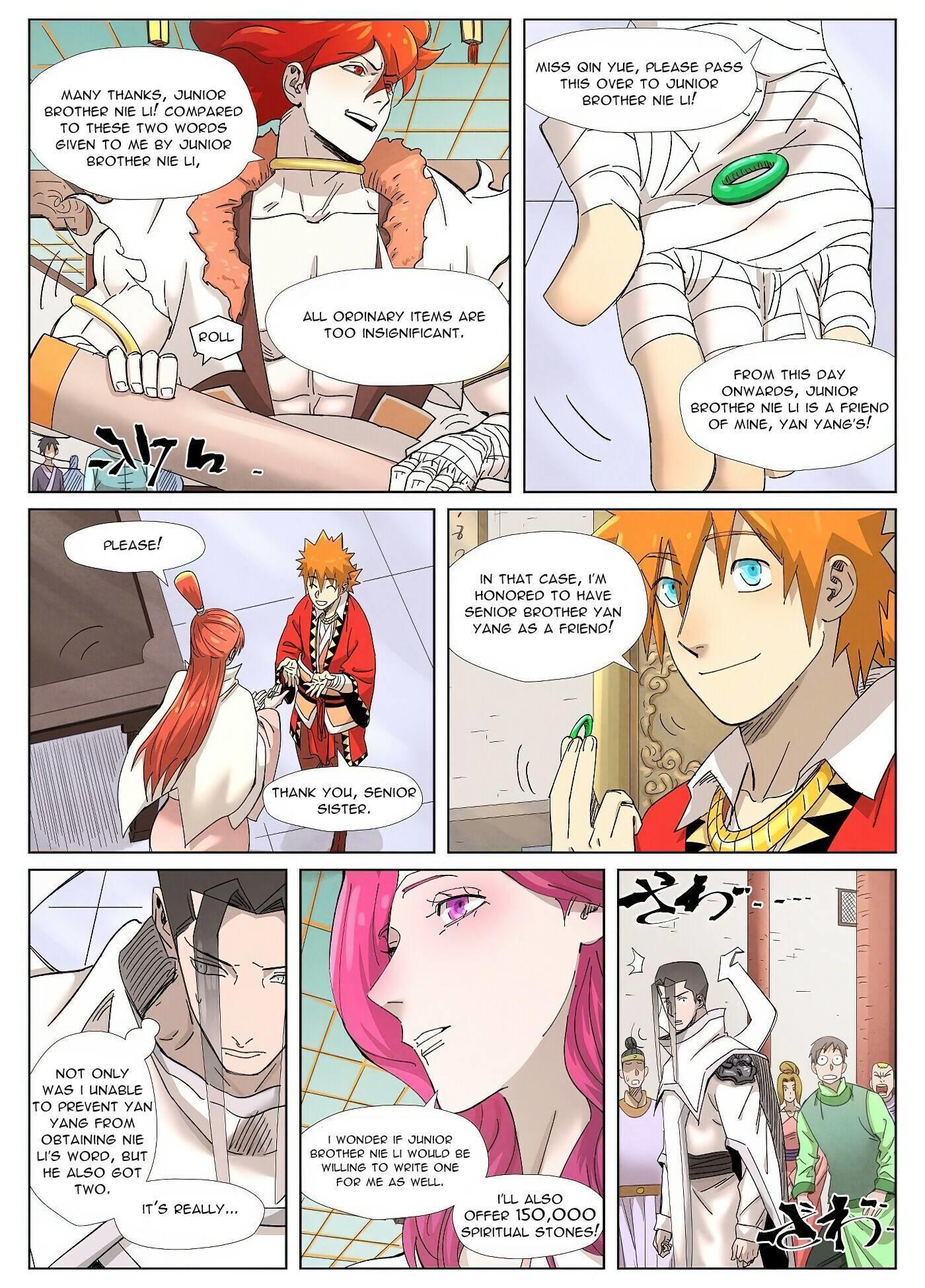 Tales Of Demons And Gods Chapter 342 page 8 - Mangakakalot