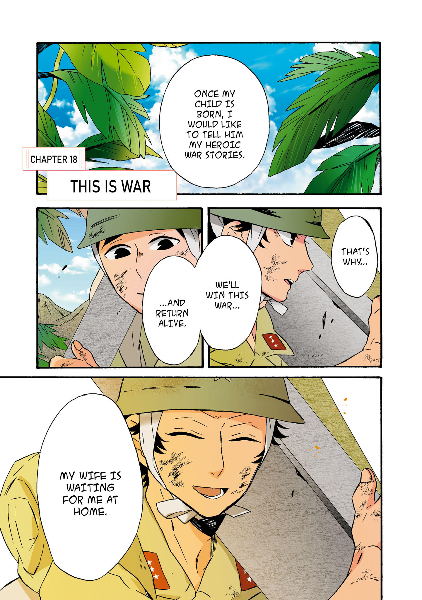 Will You Marry Me Again If You Are Reborn? Vol.4 Chapter 18: This Is War page 3 - Mangakakalots.com