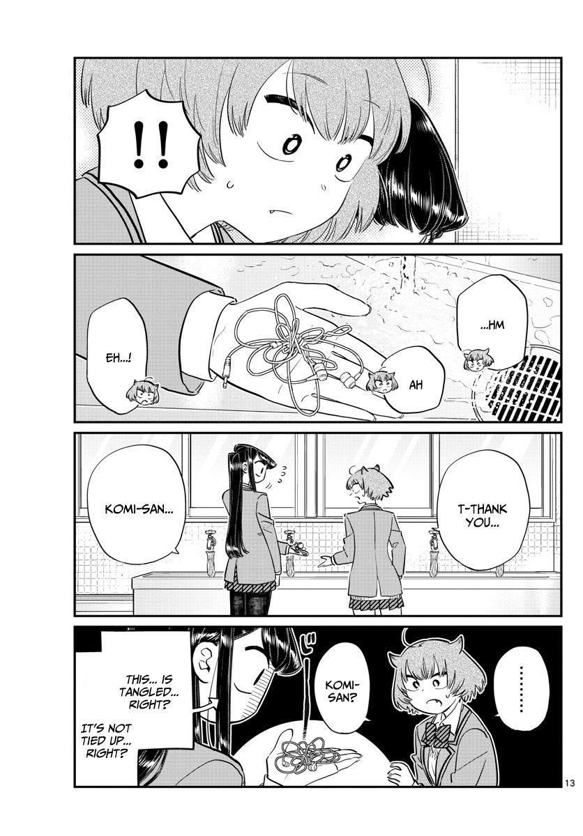 Komi-San Wa Komyushou Desu Vol.9 Chapter 121: An Iron Club For A Demon. page 5 - Mangakakalot