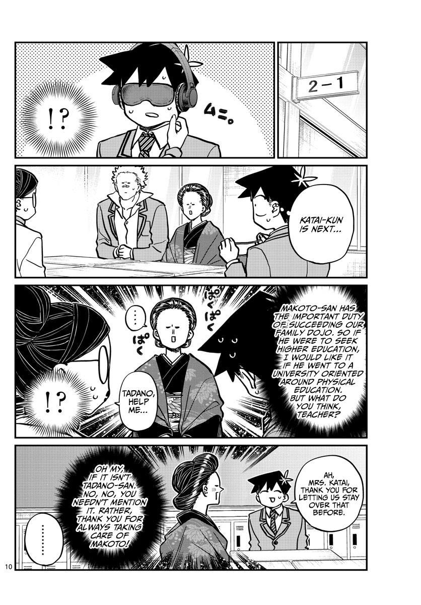 Komi-San Wa Komyushou Desu Chapter 256: Career Counseling page 10 - Mangakakalot