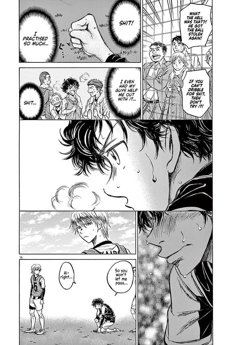 Ao Ashi Vol.4 Chapter 31: Taunt page 16 - Mangakakalots.com