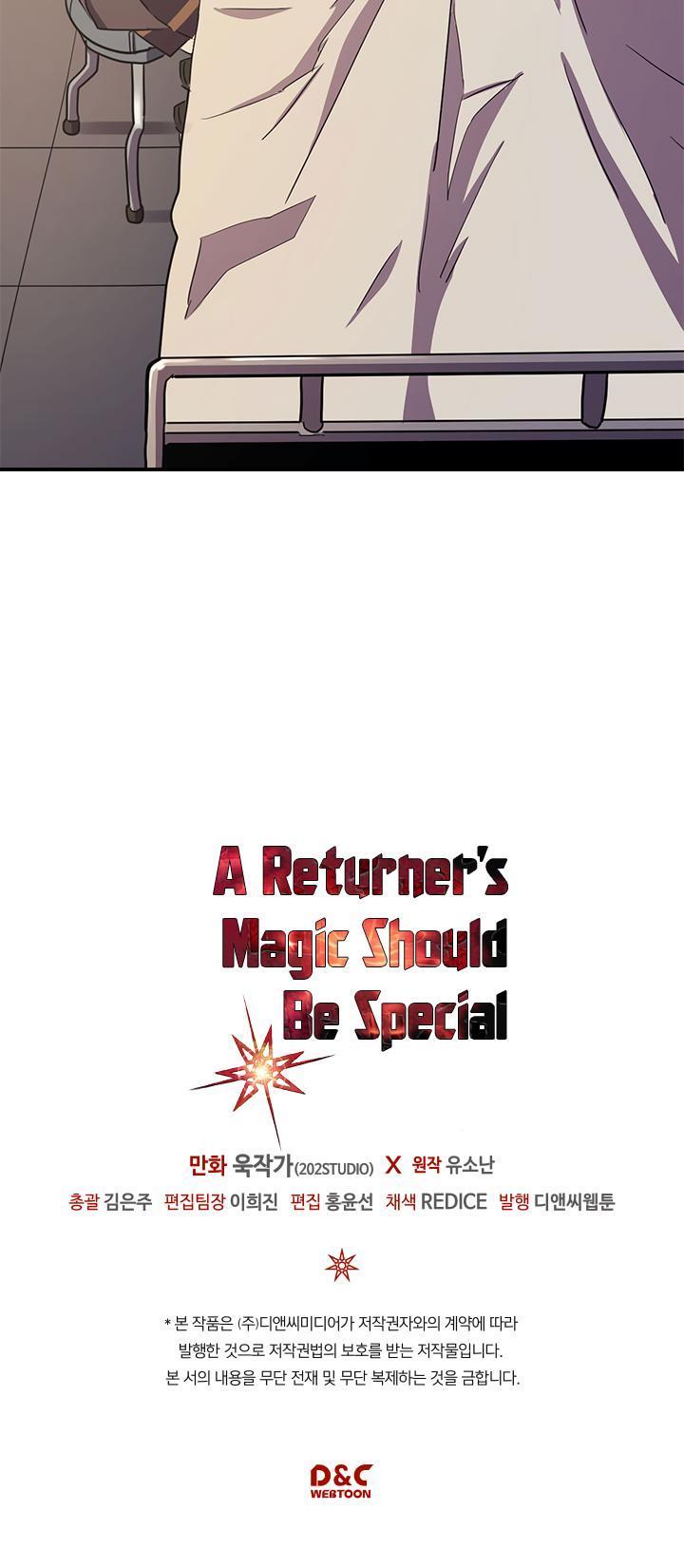 A Returner's Magic Should Be Special Chapter 98 page 35 - Mangakakalots.com