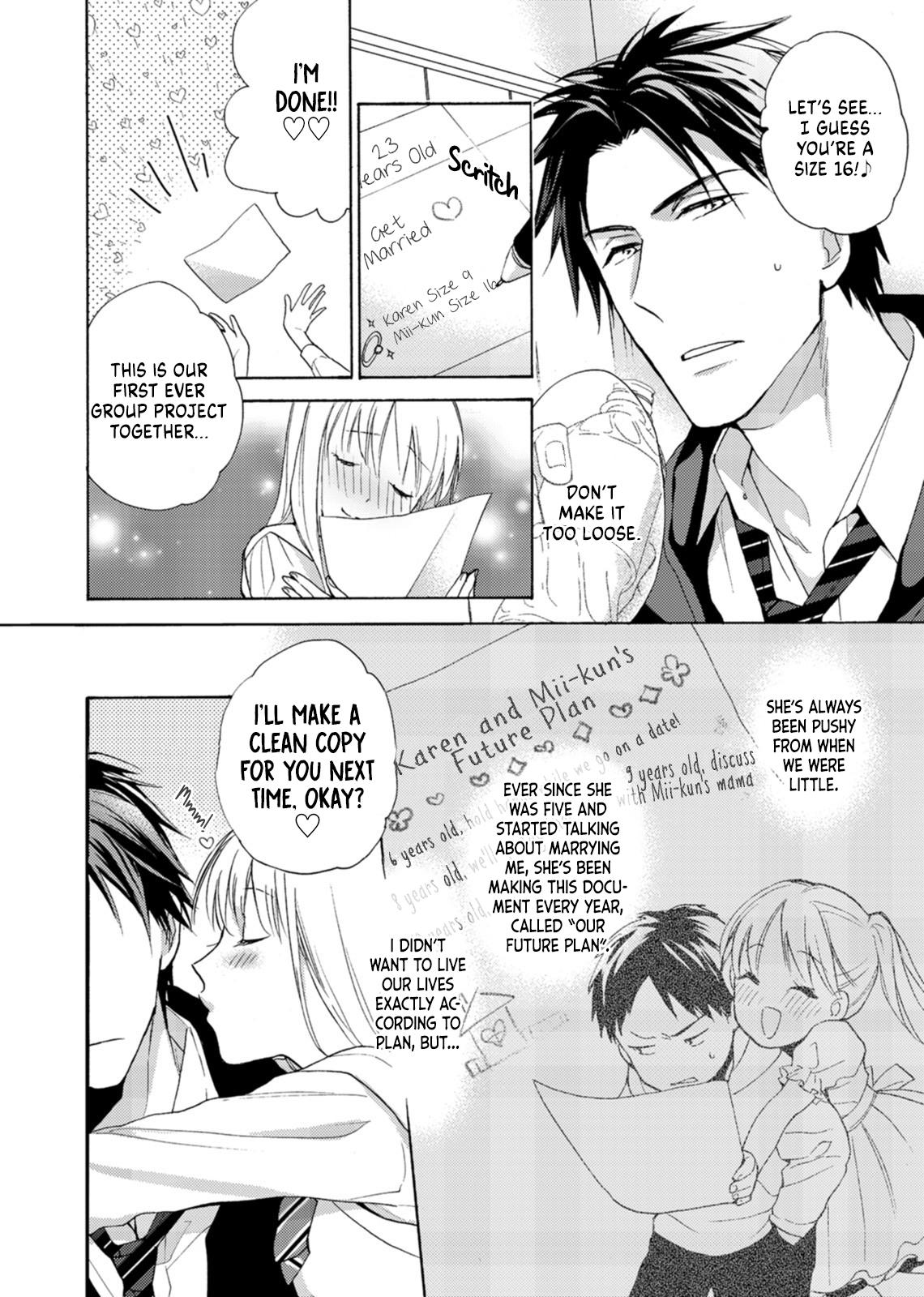 Mitsunaga Ougo Is Trying To Control Himself Vol.1 Chapter 1: Chapter 1 page 6 - Mangakakalots.com