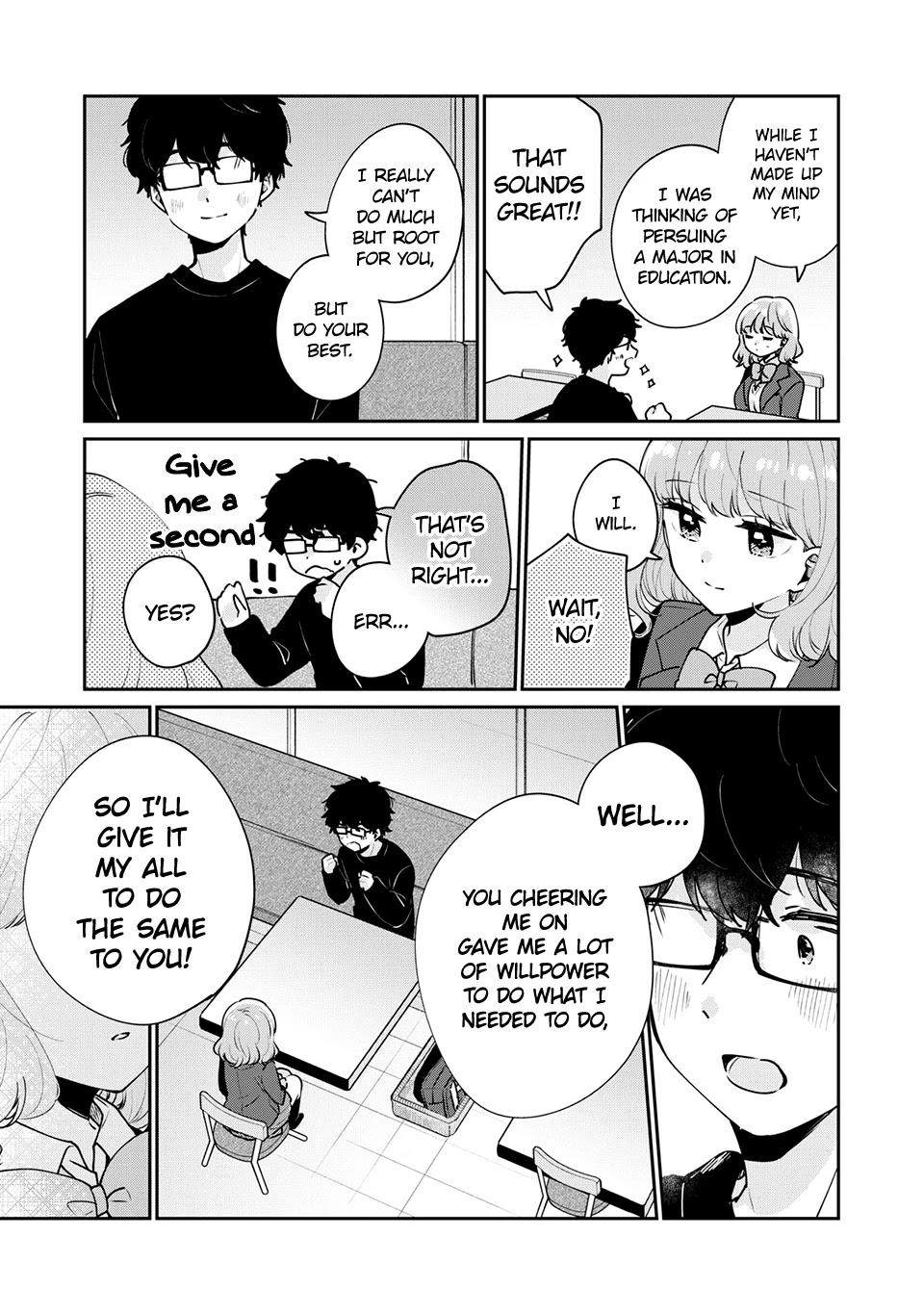 It's Not Meguro-San's First Time Chapter 49: If You Can Take That Step page 14 - Mangakakalots.com