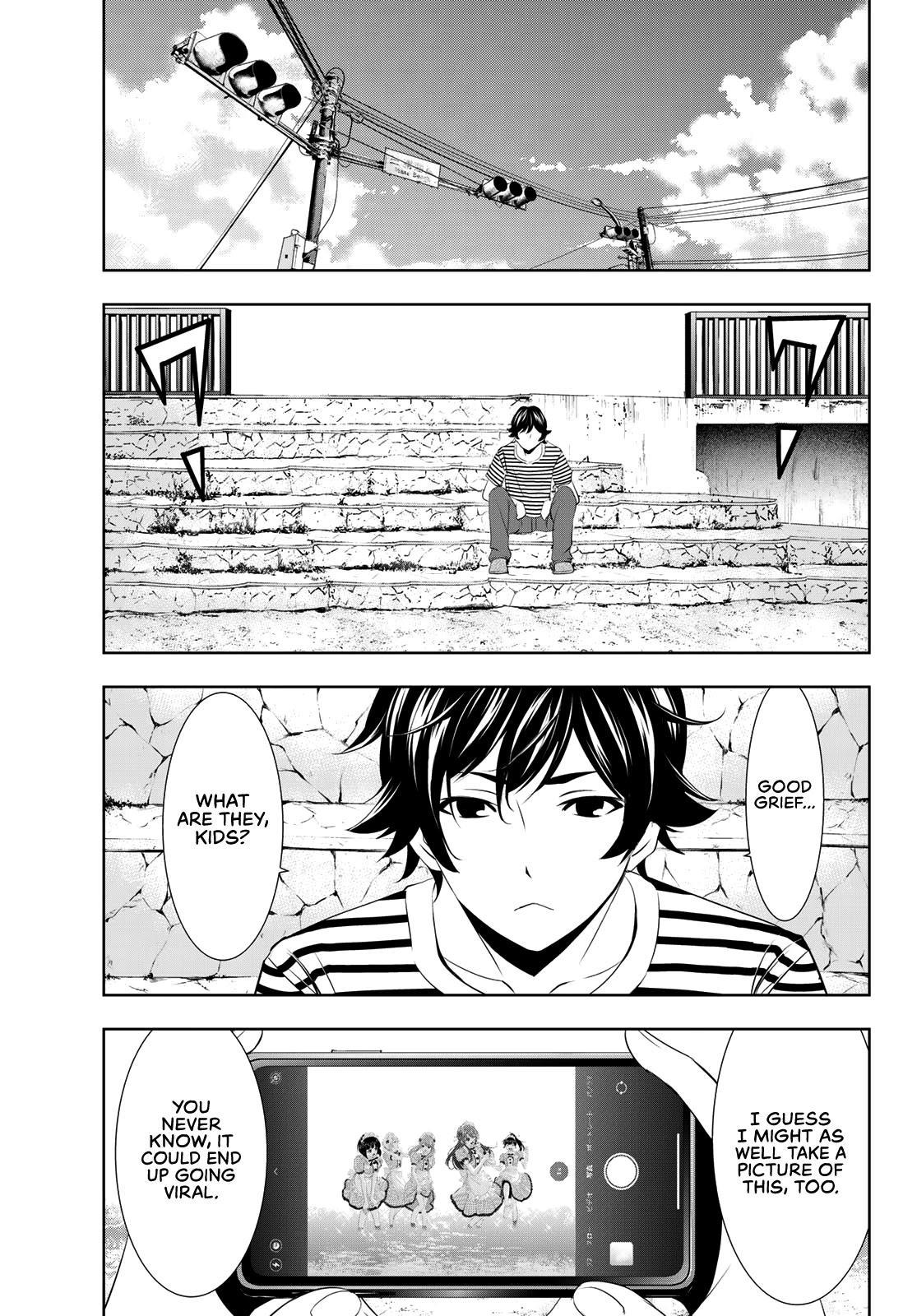 Goddess Café Terrace Chapter 21: The Start Of Summer page 16 - Mangakakalots.com