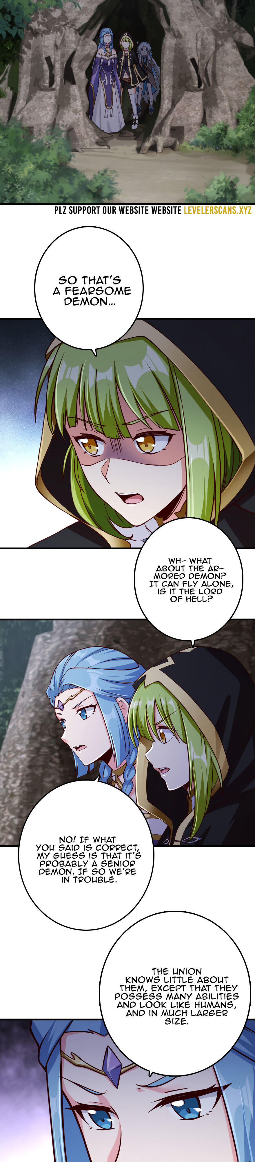 Release That Witch Chapter 318 page 3 - Mangakakalots.com