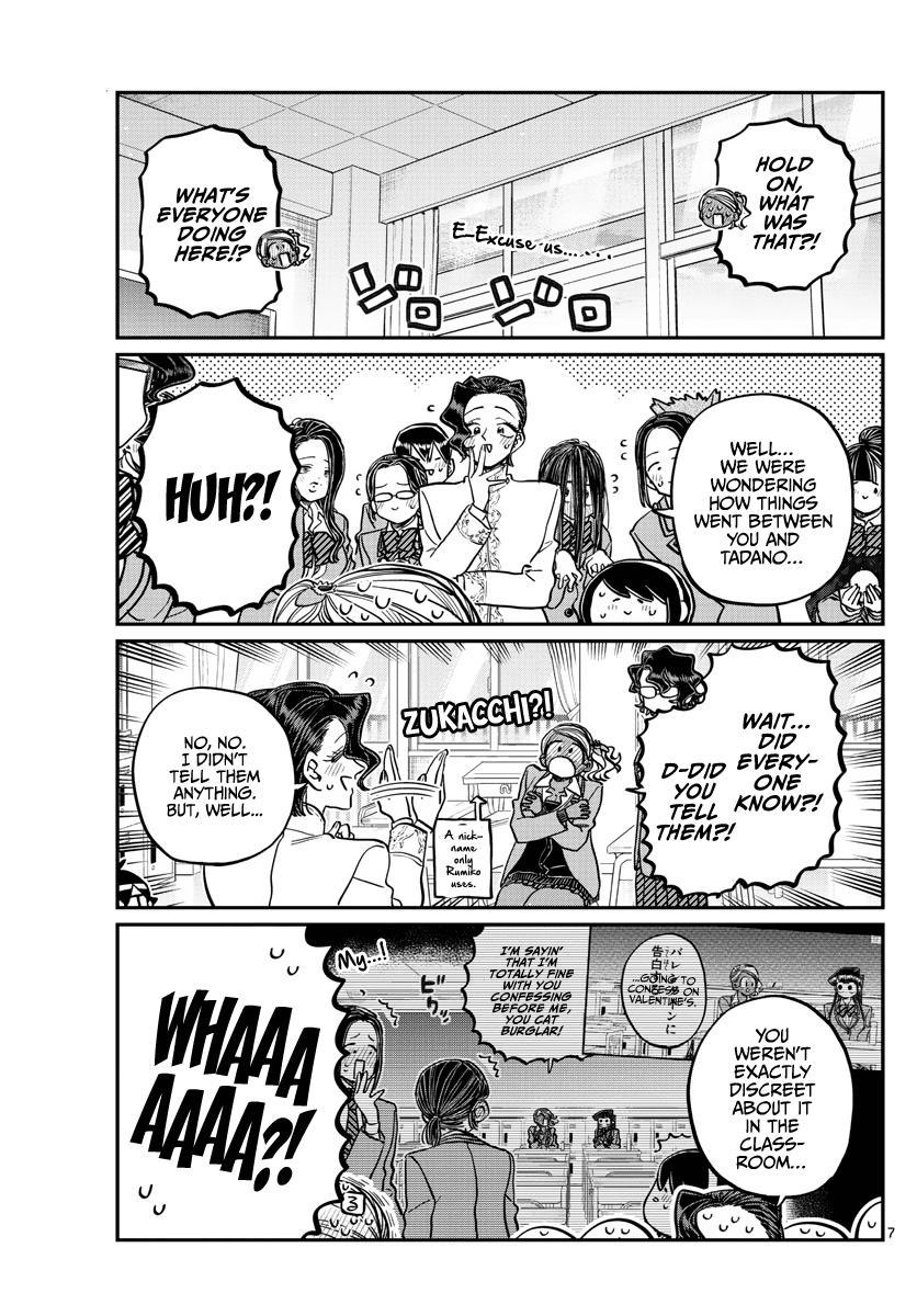 Komi-San Wa Komyushou Desu Chapter 303: Confession 4 page 7 - Mangakakalot