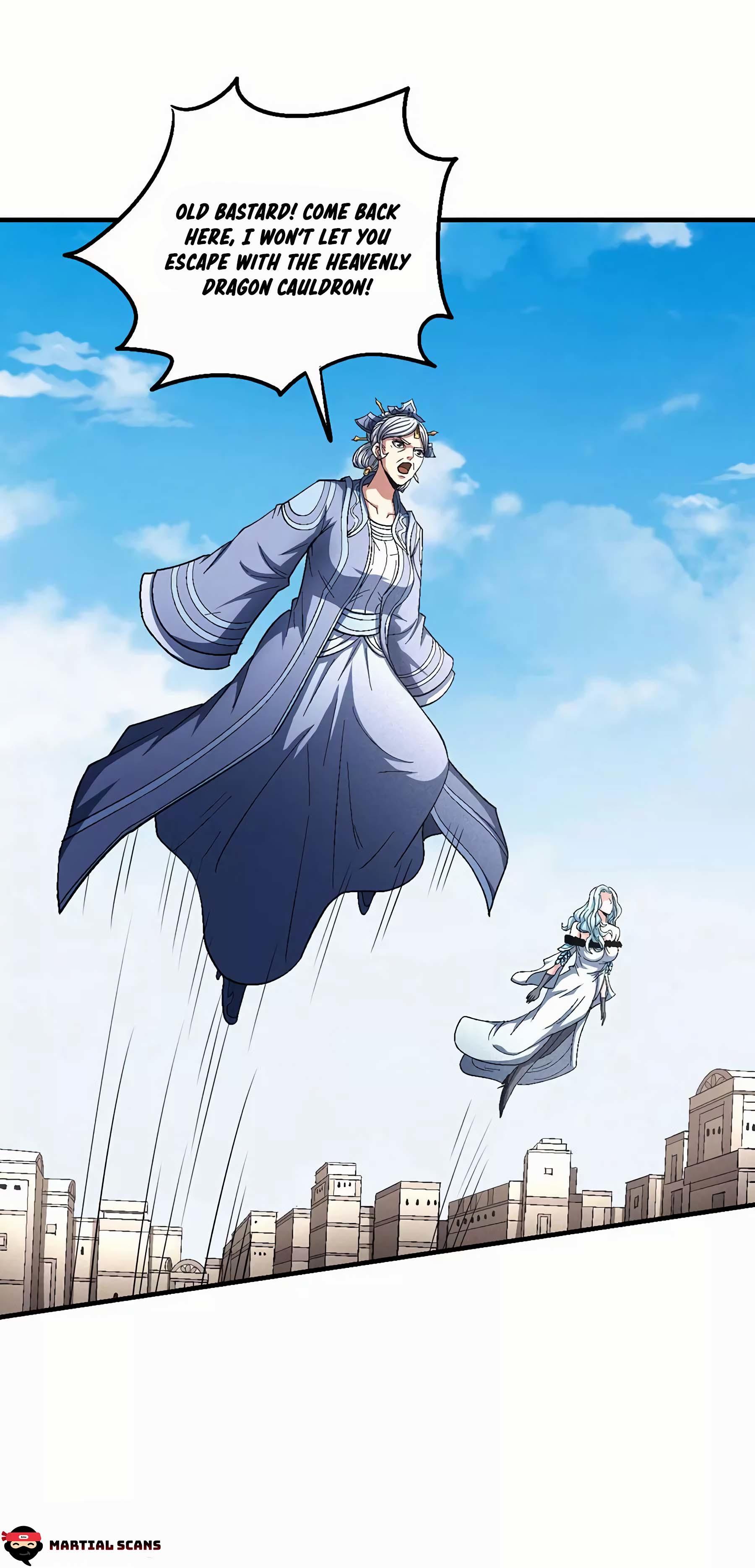 God Of Martial Arts Chapter 127.2: Mister Chi page 3 - Mangakakalots.com