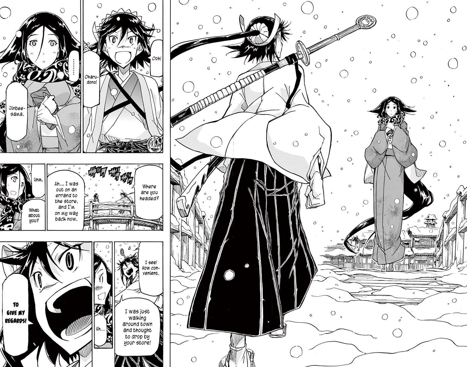 Joujuu Senjin!! Mushibugyo Vol.25 Chapter 241: Setoff (First Part) page 19 - Mangakakalots.com