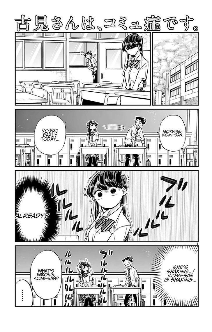 Komi-San Wa Komyushou Desu Vol.2 Chapter 29: It's Pun page 1 - Mangakakalot
