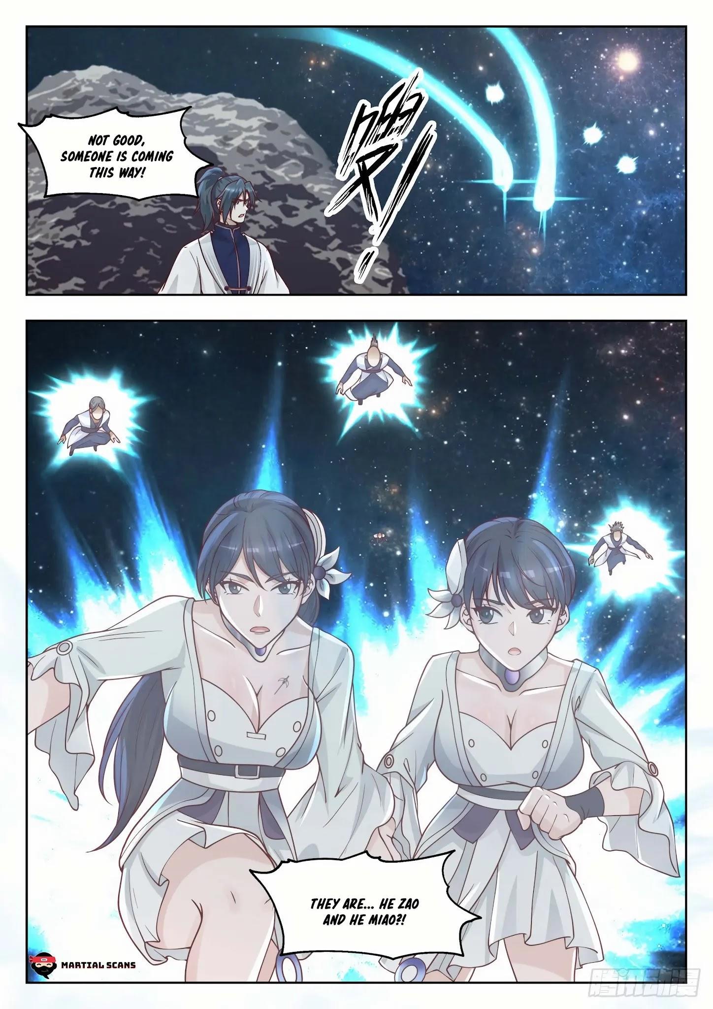 Martial Peak Chapter 1445: Three Swords Brilliance Secret Technique page 12 - Mangakakalot