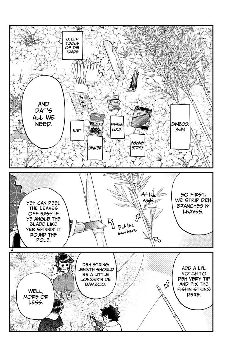Komi-San Wa Komyushou Desu Vol.13 Chapter 184: Playing In The Country page 14 - Mangakakalot