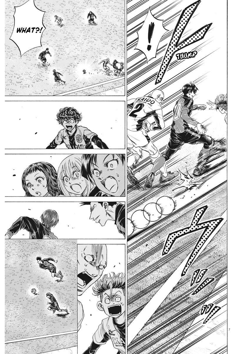 Ao Ashi Chapter 245: The Man Who Controls The Chaos page 8 - Mangakakalots.com