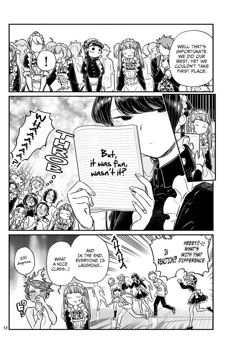 Komi-San Wa Komyushou Desu Vol.5 Chapter 72: Dance Party page 3 - Mangakakalot