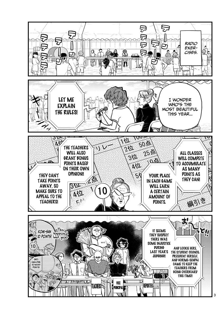 Komi-San Wa Komyushou Desu Chapter 208: Second Year Sports Festival page 3 - Mangakakalot
