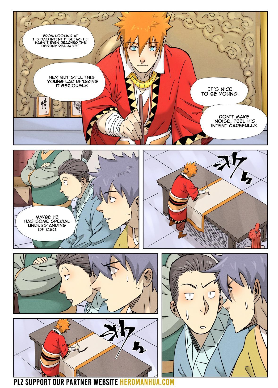 Tales Of Demons And Gods Chapter 341.1 page 7 - Mangakakalot